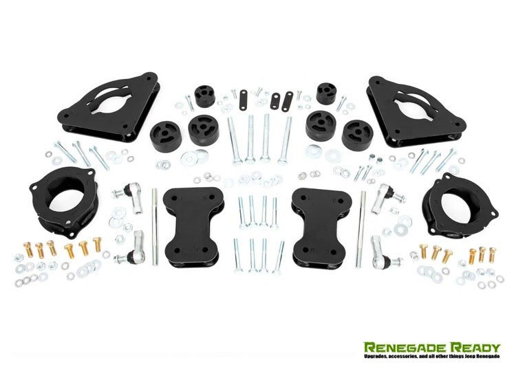 """Jeep Renegade Leveling Kit - 2"""" - Rough Country"""