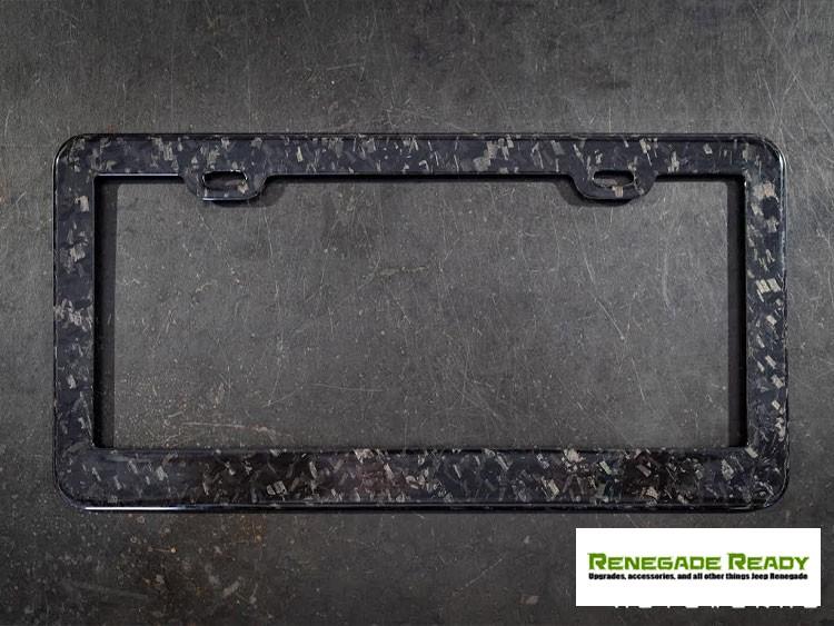 License Plate Frame - 100% Forged Carbon Fiber