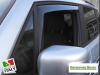 Jeep Renegade Side Window Air Deflectors - Front + Rear Set - Mini