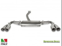 Jeep Renegade Performance Exhaust - Ragazzon - Top Line - Dual Exit / Quad Tip - 4WD