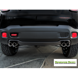 Jeep Renegade Performance Exhaust - Ragazzon - Top Line - Dual Exit / Quad Tip