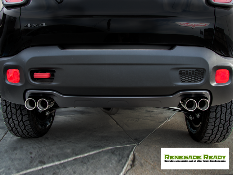 Jeep Renegade Performance Exhaust by Ragazzon - Top Line - Dual Exit / Quad Tip