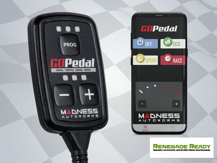 Jeep Renegade Throttle Controller - MADNESS GOPedal - 2.4L - Bluetooth