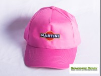 Martini Racing Hat - Pink