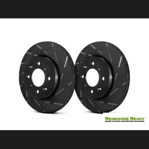 Jeep Renegade Brake Rotors - EBC - Front - Slotted
