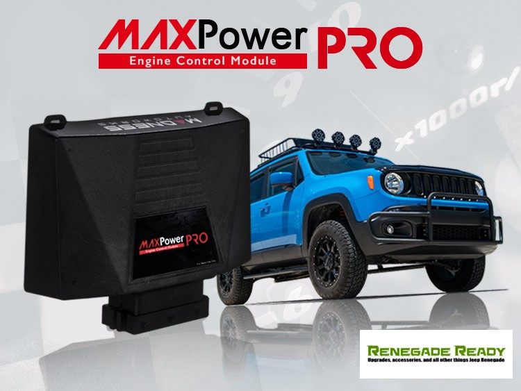Jeep Renegade - Engine Control Module - MAXPower PRO by MADNESS - 1.3L Multi Air Engine