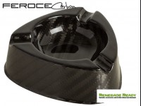 Carbon Fiber Ashtray by Feroce