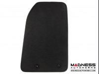 Jeep Renegade Floor Mats - Deluxe Black Carpet