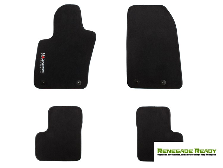 Jeep Renegade Floor Mats - Premium Carpet - MADNESS