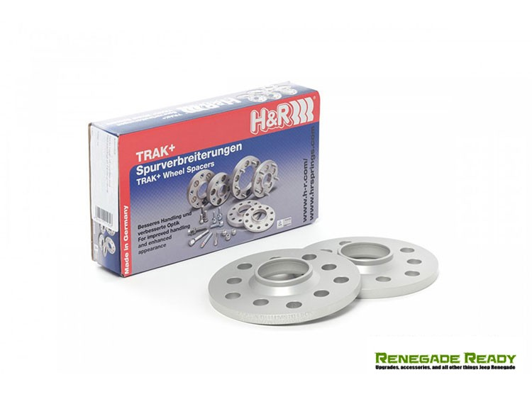 Jeep Renegade Wheel Spacers - 5mm - H&R - Trak+ DR Series