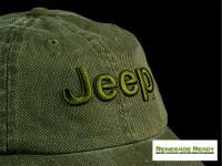 Jeep Cap - Green w/ Jeep Logo