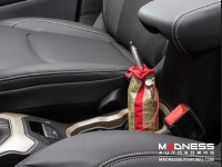 Jeep Renegade Pochette - Gold w/ Red Stripe