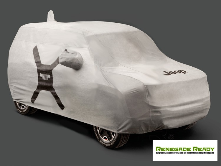 Jeep Renegade Vehicle Cover - Outdoor/ Fitted/ Deluxe - Mopar