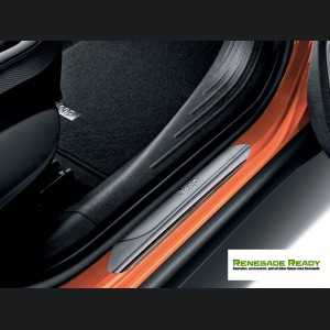 Jeep Renegade Door Sill Guards w/ Jeep Logo