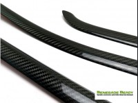 Jeep Renegade Window Trim Cover Kit - 6 piece - Carbon Fiber