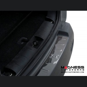 Jeep Renegade Rear Bumper Sill Cover - Carbon Fiber