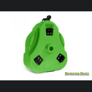 Jeep Renegade Cam Can - Storage Trail Box - Bright Green