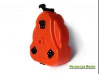 Jeep Cam Can by Daystar - Storage Trail Box - Orange