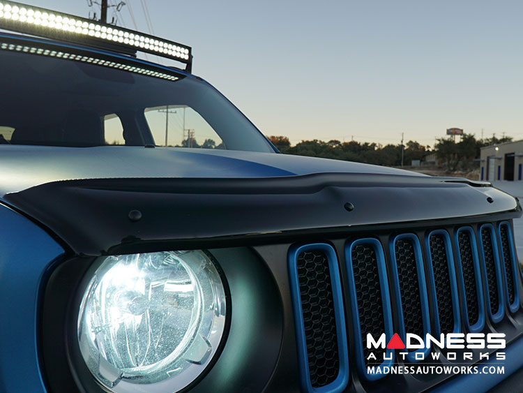 Jeep Renegade Hood Wind/ Bug Deflector -  Bug Shield/ Deflector