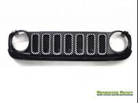 Jeep Renegade Grill Trim Kit - Checkered Pattern