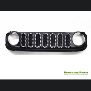 Jeep Renegade Grill Trim Kit - Checkered Pattern