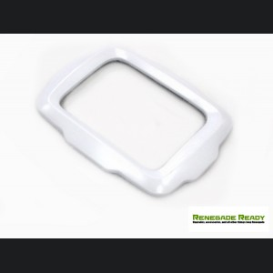 Jeep Renegade Radio Bezel Trim Piece - White - Uconnect 3.0/ 5.0 Systems