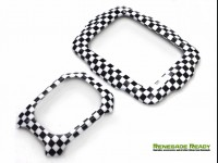 Jeep Renegade Interior Trim Kit - Checkered Pattern - Left Hand Drive