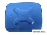 Jeep Renegade Fuel Door Cover - Blue