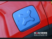 Jeep Renegade Fuel Door Cover - Blue