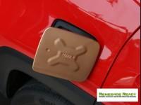 Jeep Renegade Fuel Door Cover - Gold
