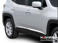 Jeep Renegade Door Accent Trim Kit- 4pc - Stainless Steel