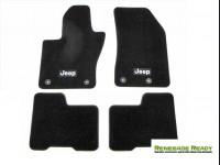 Jeep Renegade Floor Mats - Black Carpet