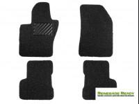 Jeep Renegade All Weather Floor Mats - Custom Rubber Woven Carpet - Black