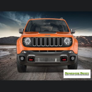 Jeep Renegade Front Grill - Chrome Finish - Pre Facelift Models