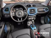 Jeep Renegade Radio Bezel Trim Piece - Blue - Uconnect 3.0/ 5.0 Systems