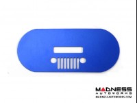 Jeep Renegade Spare Tire Cover Handle Trim - Blue