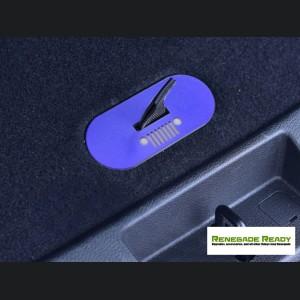 Jeep Renegade Spare Tire Cover Handle Trim - Blue