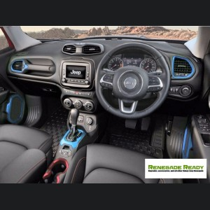 Jeep Renegade Interior Trim Kit - Blue - Right Hand Drive
