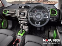 Jeep Renegade Interior Trim Kit - Green - Right Hand Drive