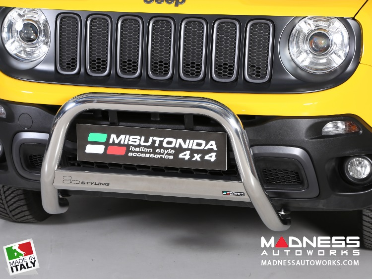 Jeep Renegade Bumper Guard - Misutonida - Front - Medium Bumper Protector - Trailhawk - Pre Facelift Models