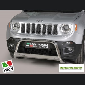 Jeep Renegade Bumper Guard - Misutonida - Front - Medium Bumper Protector - Sport/ Lattitude/ Limited - Pre Facelift Models