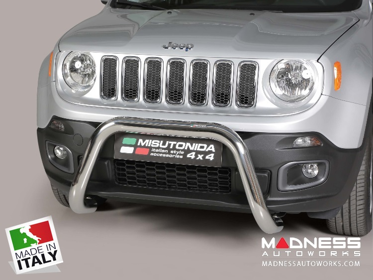 Jeep Renegade Bumper Guard - Misutonida - Front - Super Bar - Sport/ Latitude/ Limited - Pre Facelift Models