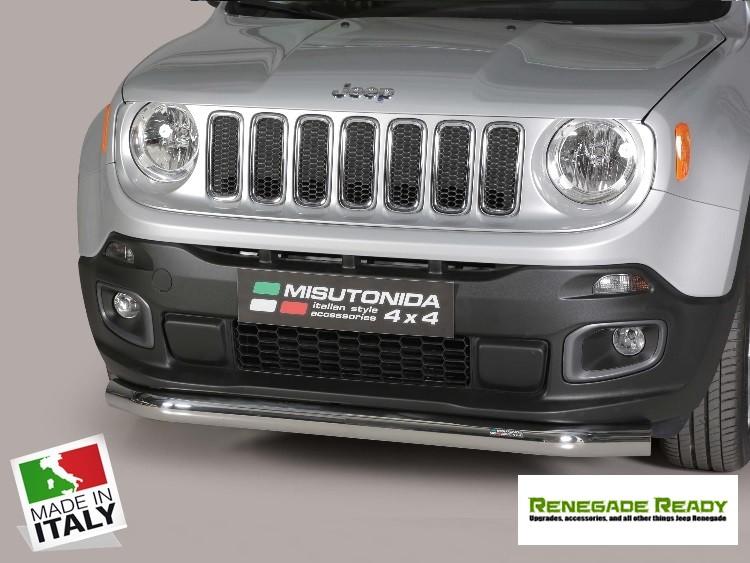 Jeep Renegade Bumper Guard - Misutonida - Front - Super Bar Bumper Protector - Sport/ Latitude/ Limited - Pre Facelift Models