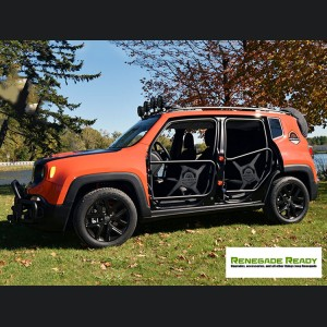 Jeep Renegade Tube Doors - Front Set