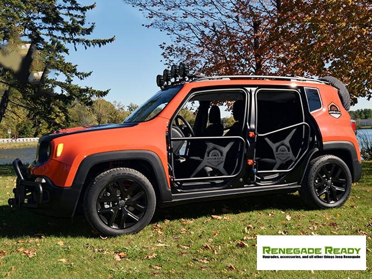 Jeep Renegade Tube Doors - Front Set