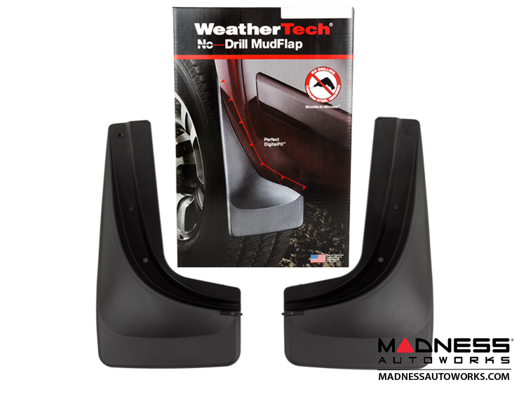 Jeep Renegade Mud Flaps - WeatherTech - Rear