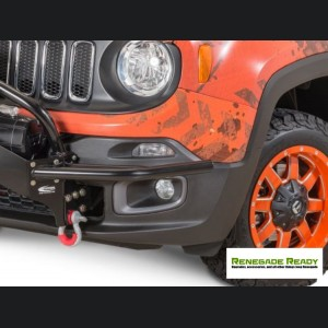 Jeep Renegade Front Winch Bumper Guards - Daystar - Pre Facelift Models