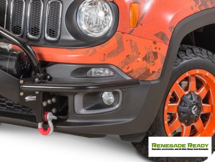 Jeep Renegade Front Winch Bumper Guards - Daystar - Pre Facelift Models