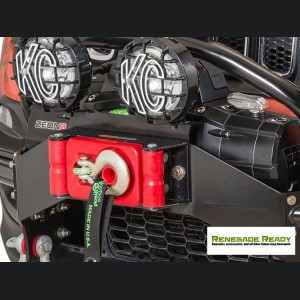 Jeep Renegade Winch Fairlead Light Bracket - Daystar