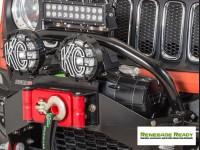 Jeep Renegade Winch Bumper Light Bar Mount - Daystar